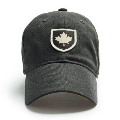 Red Canoe Canada shield Cap, Slate