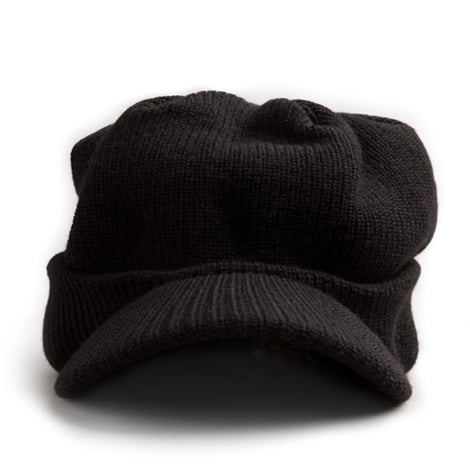 Red Canoe Black Merino Wool Hat 4