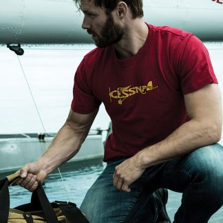 Cessna Plane T-shirt Heritage Red