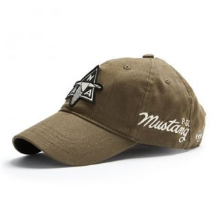 NAA P51 Cap, Khaki left side