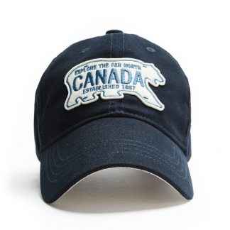 Polar Plate Cap, Front Navy