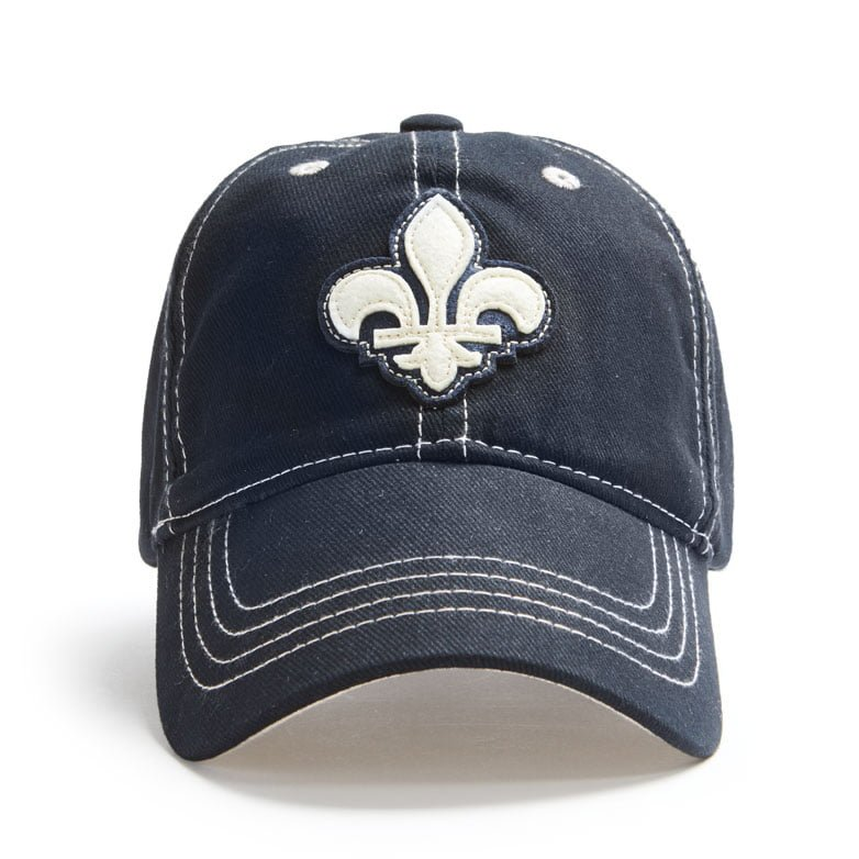 Red Canoe Quebec Shield Hat, Navy