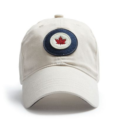 Red Canoe RCAF cap, Stone Front view