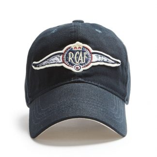 Red Canoe RCAF wings Cap, Navy Front view