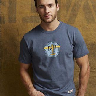dehavilland-blue-tshirt-