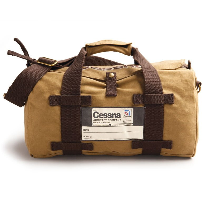 Cessna-stow-bag-tan