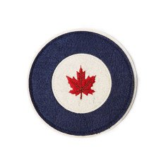 Red Canoe RCAF Felt Patch