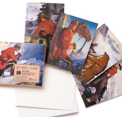 RCMP Note Cards