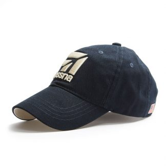 Cessna Cap Navy side