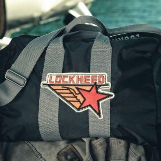 Red Canoe Lockheed bag