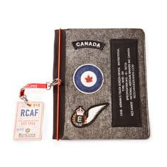 Red Canoe RCAF Felt iPad Case