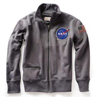 NASA Rocket Scientist Full Zip Sweatshirt Back