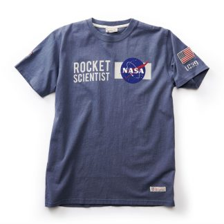 NASA T-shirt, Washed Blue