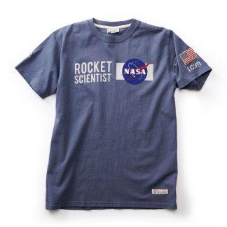 NASA T-shirt, Washed Blue