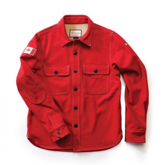Woodsman Shirt, Heritage Red
