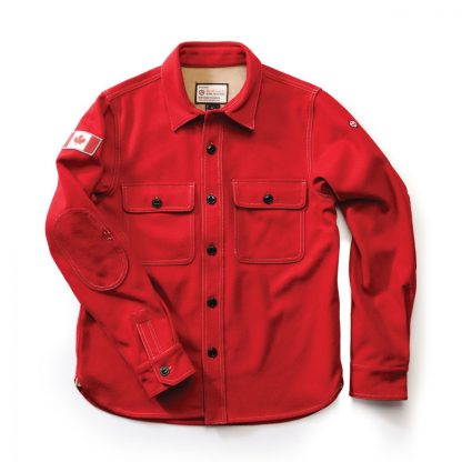 Woodsman Shirt, Heritage Red
