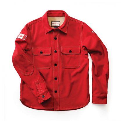 Woodsman Shirt Heritage Red