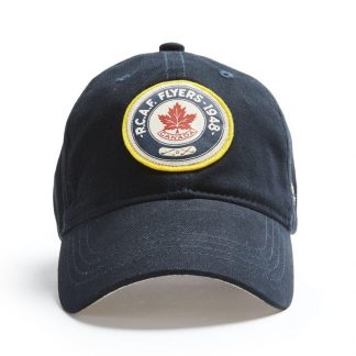 Red Canoe RCAF Flyers Cap, Navy Front view