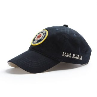 Red Canoe RCAF Flyers Cap, Navy side view