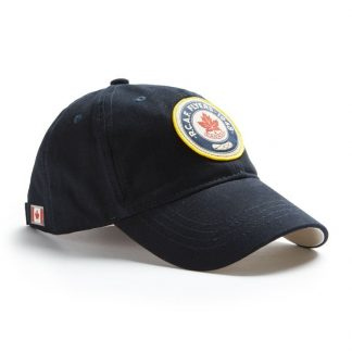 Red Canoe RCAF Flyers Cap, Navy side view 2