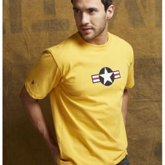 USAF-tshirt-burnt-yellow