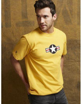 USAF-tshirt-burnt-yellow