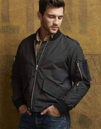 Flight Jacket - Charcoal