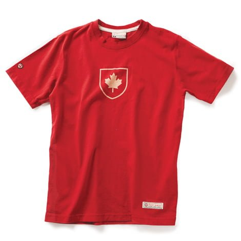 Canada-Shield-T-Shirt Red
