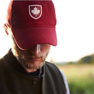 Canada Shield Cap, Heritage Red