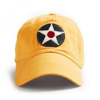 Cap US Roundel Yellow