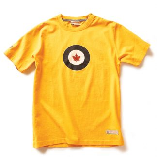 Men's RCAF T-shirt Burnt Yellow