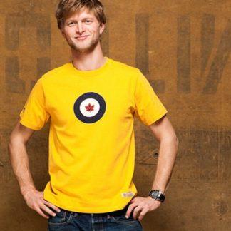 RCAF T-shirt Yellow Model