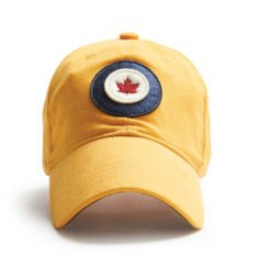 Red Canoe RCAF Cap, Burnt yellow, front