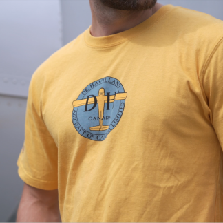 De Havilland Burnt Yellow T-shirt Video