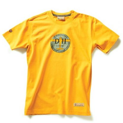 de Havilland T-shirt, Burnt Yellow