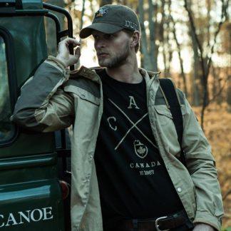 Cross Canada T-shirt, Black