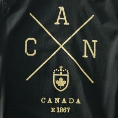 Canada-X T-shirt Black Screenprint