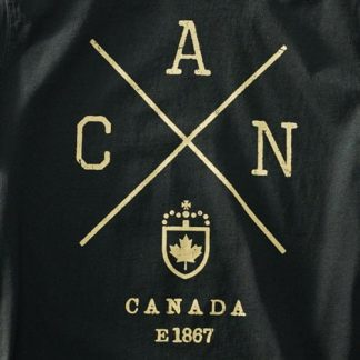 Canada-X T-shirt Black Screenprint