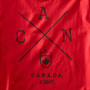 Canada-X T-shirt Red Screenprint