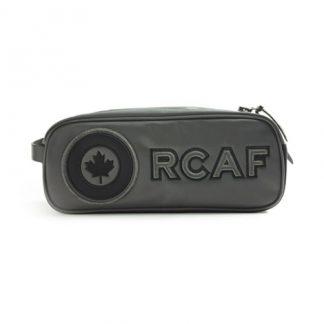 RCAF Black Toiletry Kit