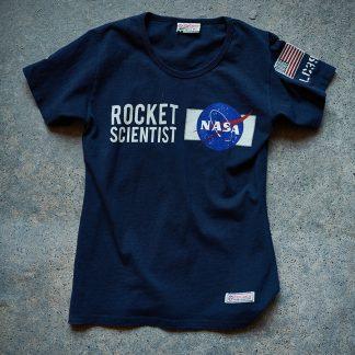 Women's NASA T_shirt, Navy