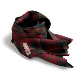 Red Canoe Maple Leaf Tartan