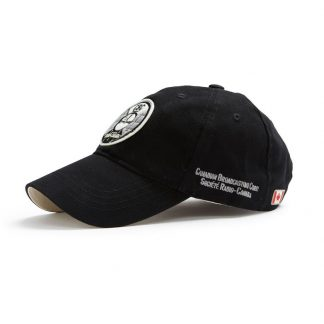 CBC Test Cap, Black left side