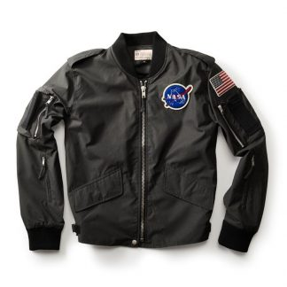 Red Canoe Men's NASA Flight jacket