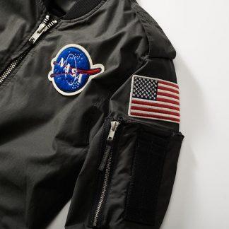 Red Canoe Men's NASA Flight jacket