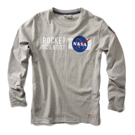 011342d6 NASA Long Sleeve T-shirt | Red Canoe | Official Site