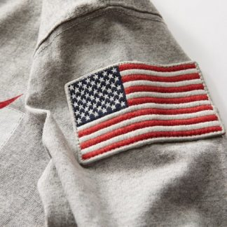 NASA cotton t-shirt us flag
