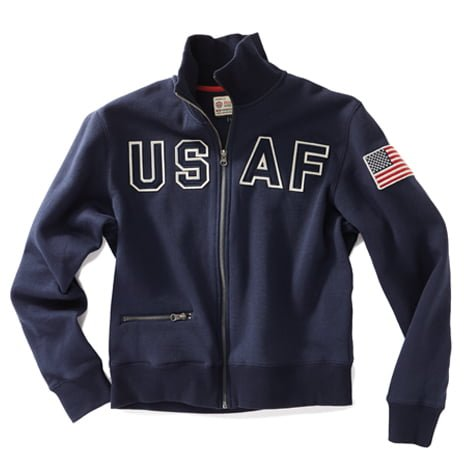 USAF Full Zip Navy