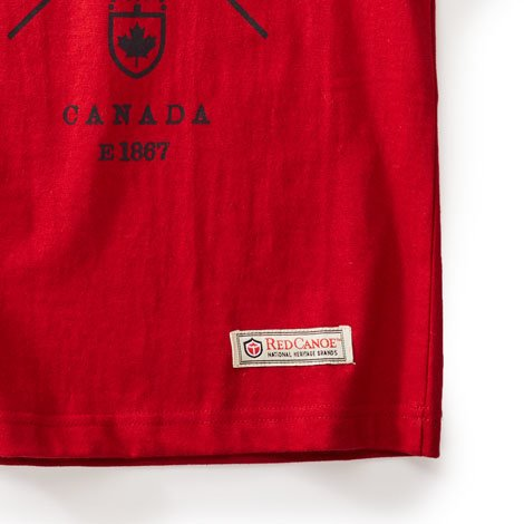 kids cross canada t shirt | red canoe | official site