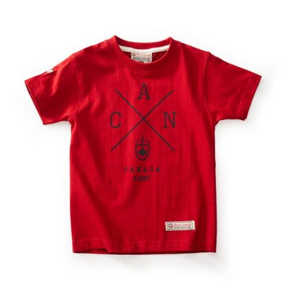 Kids Cross Canada t-shirt